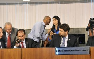 João Alberto (deputado estadual PMDB/MG), Arnaldo Silva (deputado estadual PR/MG), Iran Barbosa (deputado estadual PMDB/MG), Doutor Jean Freire (deputado estadual PT/MG)