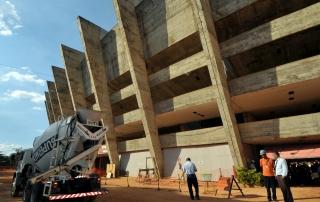 Canteiro de obras do Estádio Governador Magallhães Pinto (Mineirão)