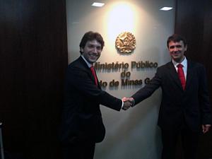 Iran Barbosa (Deputado) e Pedro Vaquer  (Presidente da Solatio Brasil)