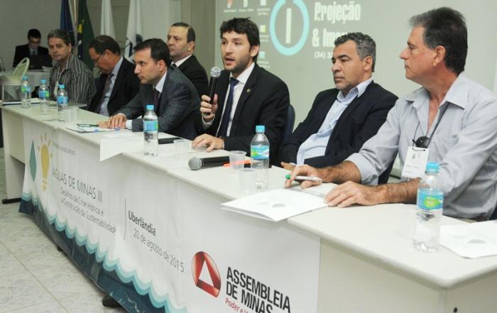 Seminário Legislativo Águas de Minas III: Desafios da crise hídrica e a construção da sustentabilidade - Encontro Regional de Uberlândia (manhã)