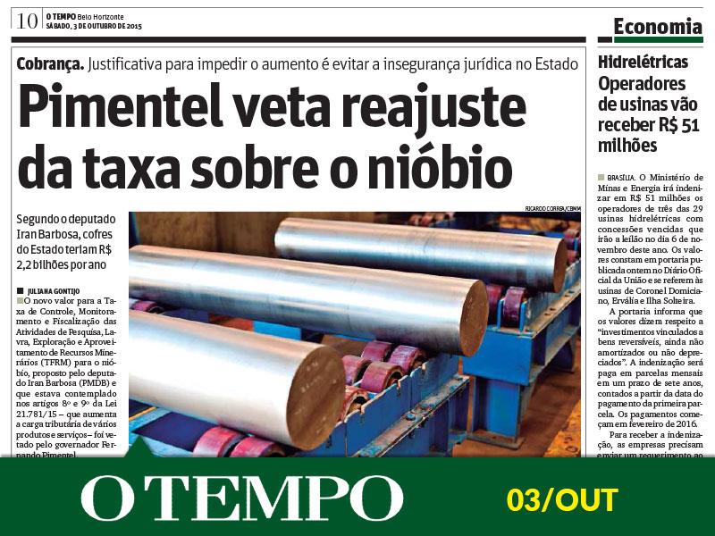 Matéria Jornal O Tempo