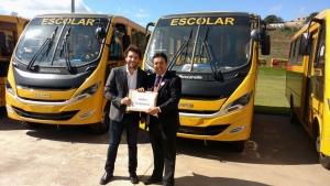 Deputado Iran Barbosa e Leleu, prefeito de Gurinhatã