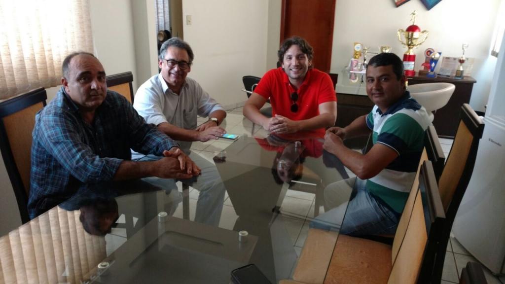 Ex Vereador Divino, Marcos Melo, Iran Barbosa e Vereador Márcio (Cuti)