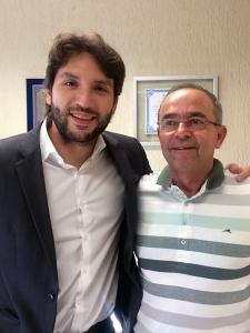 Deputado Iran Barbosa e Prefeito Jânio Murta