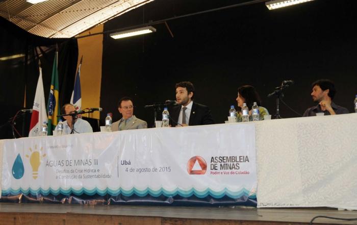 Seminário Legislativo - Águas de Minas III - Desafiosda Crise Hídrica e a Construção da Sustentabilidade