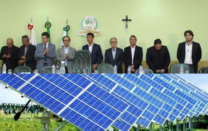 Iran Barbosa Mega Usina Solar em Varzea da Palma